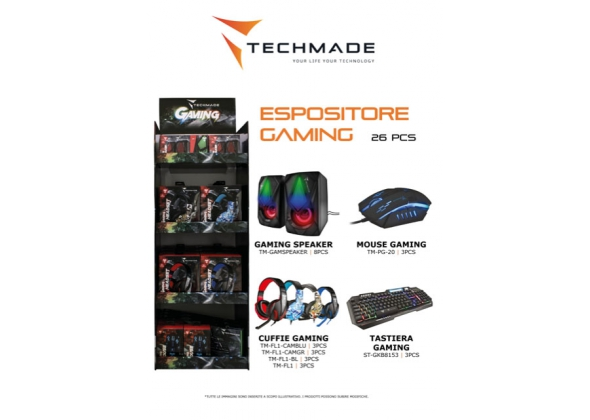 expo 12 cuffie assortite 3tastiere+3mouse+8 gaming speaker