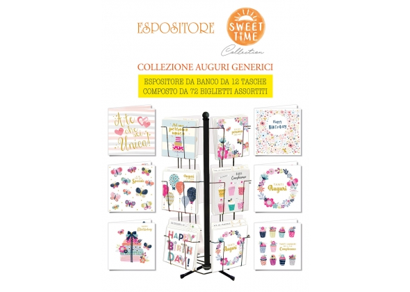 EXPO' SWEET TIME COLLECTION COLLEZIONE AUGURI GENERICI