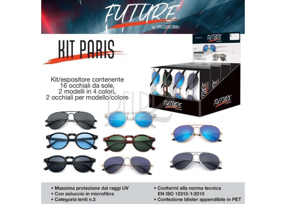 FUTURE OCCH. DA SOLE KIT PARIS