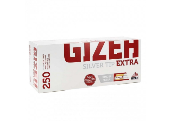GIZEH TUBI SILVER TIP EXTRA (4) (ACCISA 0,90)
