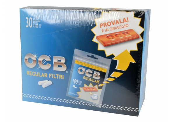 OCB FILTRI 8MM CON CARTINA ORANGE (30) (ACCISA E.0.54)