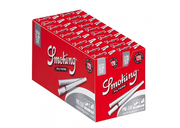 SMOKING FILTRI EXTRA SLIM IN CANNUCCIA (20) ( ACCISA 0.432 € )