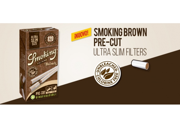 SMOKING FILTRO ULTRA SLIM BIODEGRADABILE (20) ( ACCISA 0.432 € )